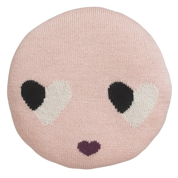 Pude Sweetheart rosa til børneværelse - LuckyBoySunday - Børneværelset - BabySleep.dk